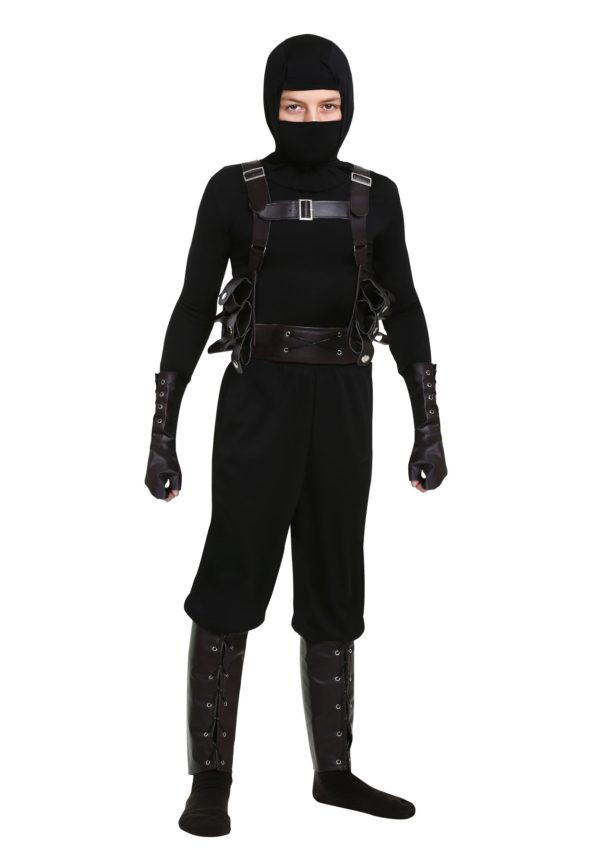 Ninja Assassin Costume for Boys