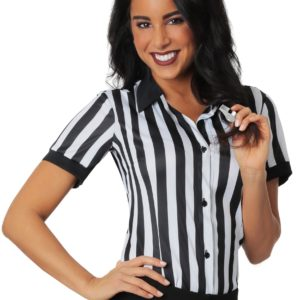 Womens Referee Shirt Plus Size 1X 2X
